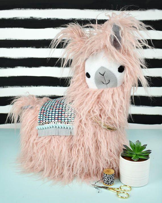 Fuzzy Stuffed Llamas/Alpacas