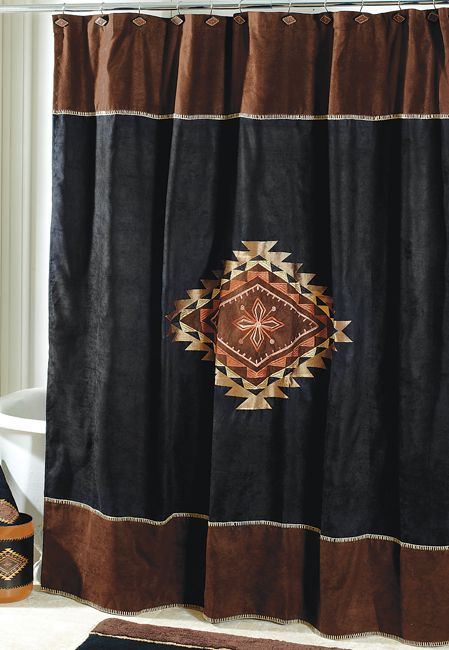 Western Shower Curtains: Mojave Shower Curtain|Lone Star Western Decor