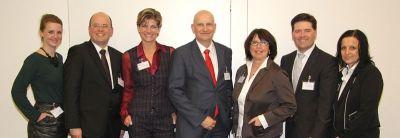 Moderations- und Referenten-Team der VA Mittelstandtalk - fotographiert von Sabine Antonius - vielen Dank