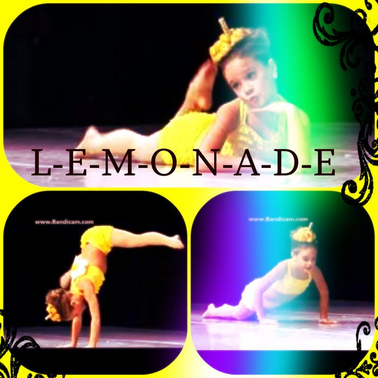 Lemonade: Mackenzie Ziegler Solo. Credit to @Karen Darling Space & Stuff Blog Moore