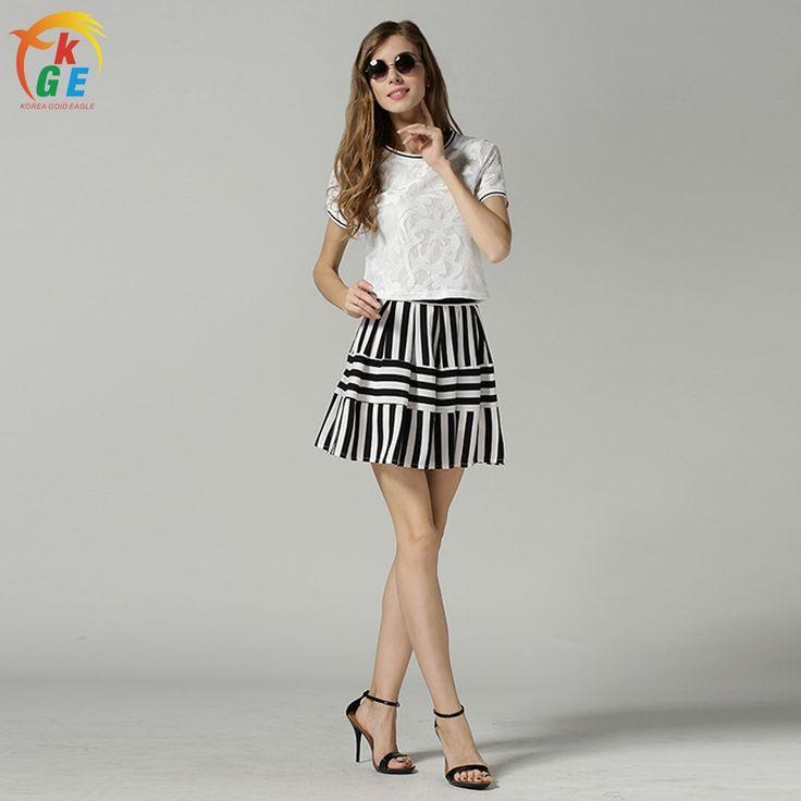 Aliexpress.com: Compre 2016 nova chegada venda quente KGE marca verão vestido Bohemian mulheres de vestido mini vestidos Fit e alargamento O pescoço com cortinas H044 de confiança H044 fornecedores em Korea Gold Eagle