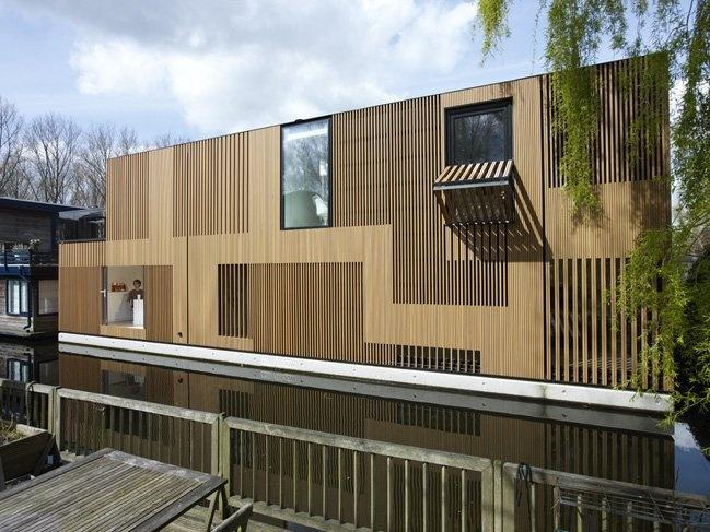 Water Villa (Amsterdam) - Framework Architecten, Studio PROTOTYPE: Residential Architecture, Studios Prototyp, Interiors Design, Modern Architecture, House, Framework Architecten, Water Villas, Design Blog, Framework Architects