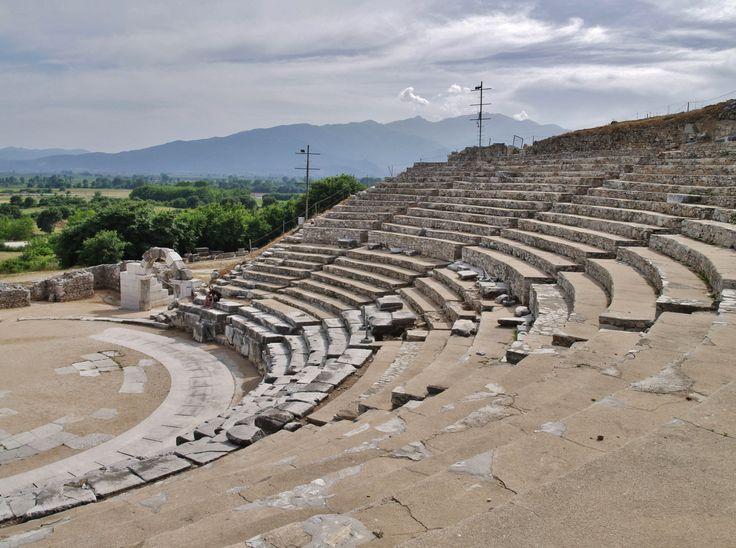 Αρχαίο Θέατρο Φιλίππων, Καβάλα.