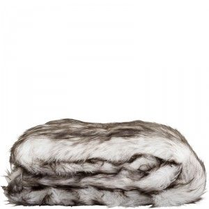 Feather Throw - Brown