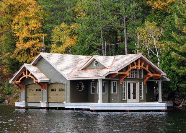 17 Best 15 Of The Most Amazing Boat Houses And A Bonus Images On