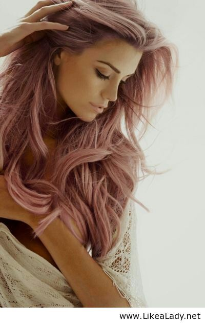Pink long hair - Awesome