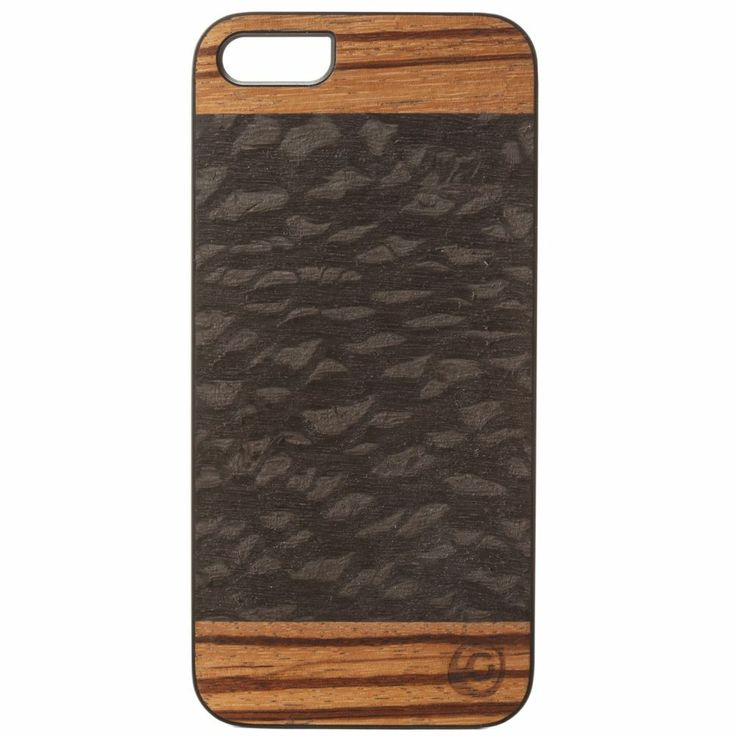 [Man&Wood] CACAO_Chic Wooden Phone Hard Case Cover for iPhone 5/5S #ManWood