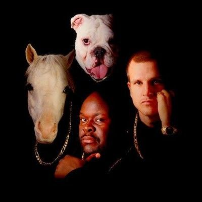 Rob and Big and meaty and the mini horse