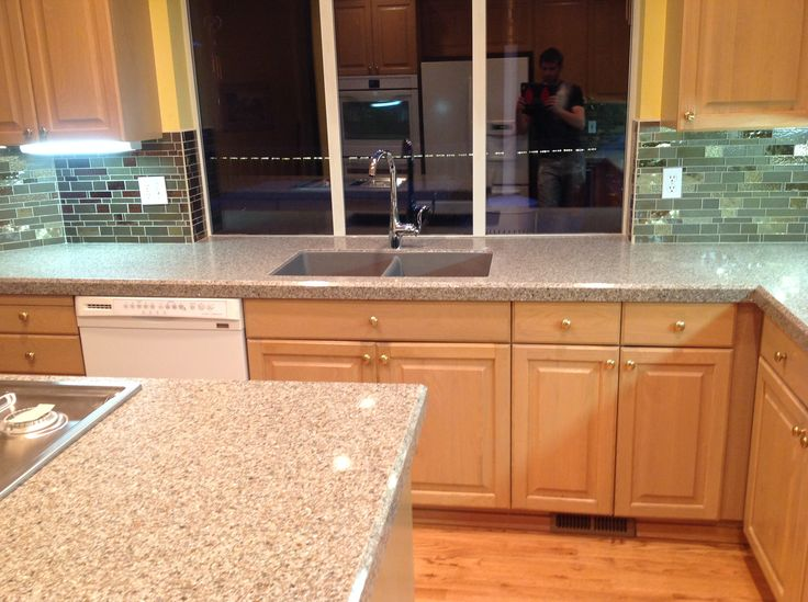 """Beautiful """"forever seal engineered stone"""" countertops"""