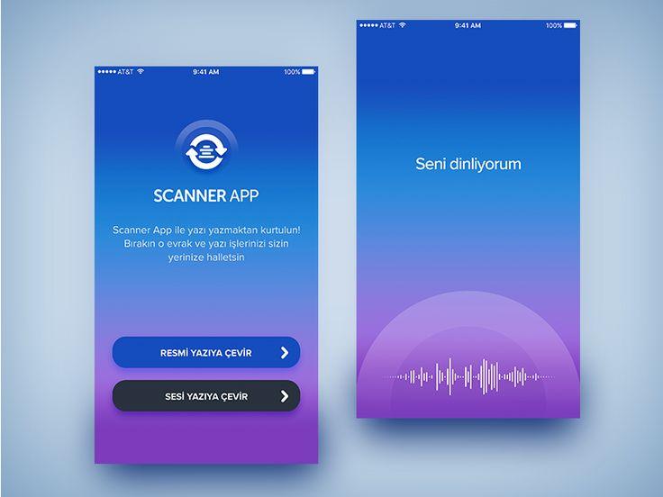 Scanner App by Tolga Batuhan Çavdar - Dribbble