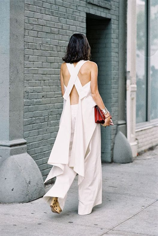 good from the back. Leandra in NYC. #LeandraMedine #ManRepeller
