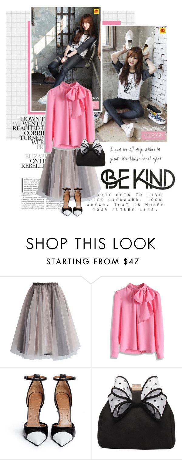 """""""1079. Lee Yu Bi"""" by oh-pororo ❤ liked on Polyvore featuring Chicwish, Givenchy, Miss KG, promote, nuovo and leeyubi"""