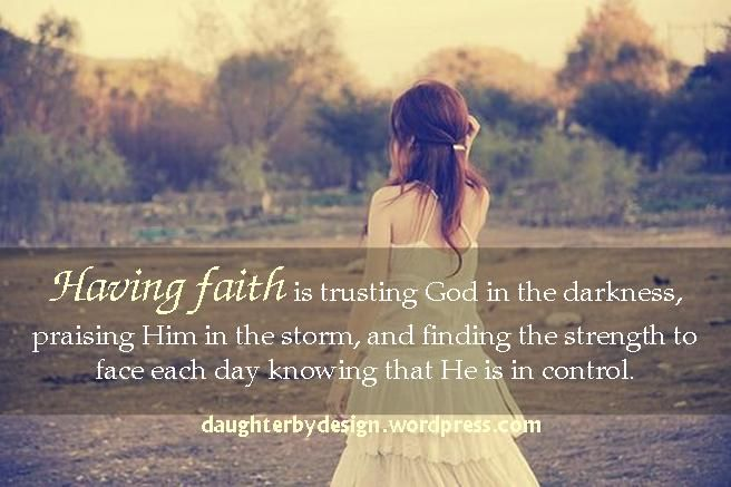 Today Have Faith In God And Remember That You Can Handle Every Single Hardship Every Single