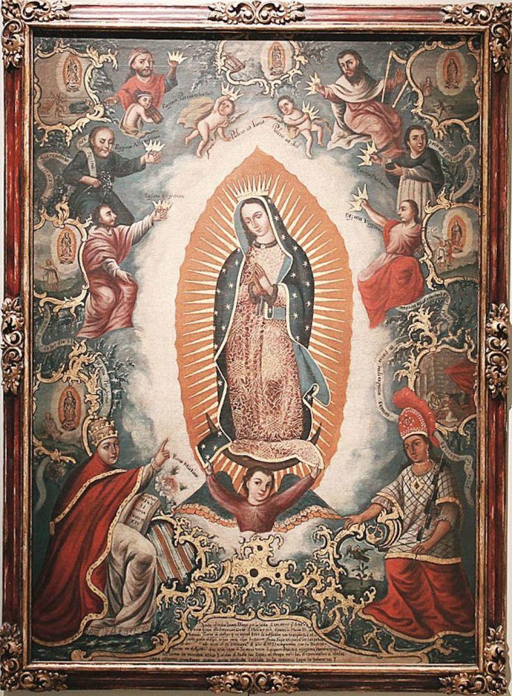59 best Virgen de Guadalupe images on Pinterest  Blessed mother