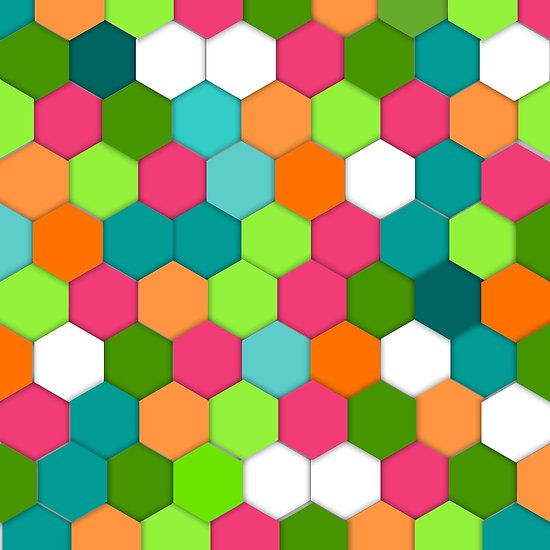 Vector Abstract science Background. pink Hexagon geometric design.