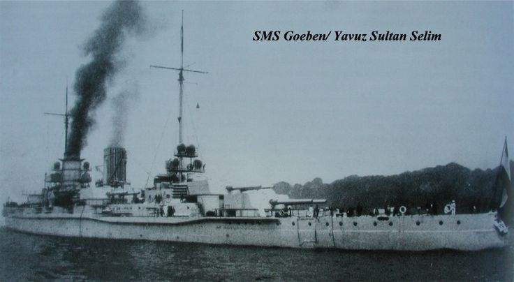 What the fuss was about. Finally retired from the Turkish navy in 1958
