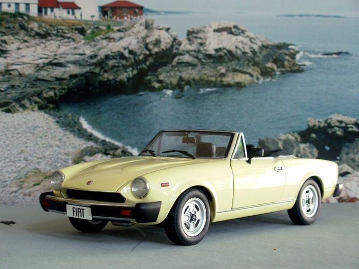 fiat 124 spider. Bought new off showroom floor. $8,000.00. Worst car ever! FIAT  Fix It Again Tony!