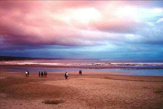 Stilbaai beach early morning. South Africa.
