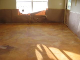 floors must go on pinterest stains porcelain floor and acid stain