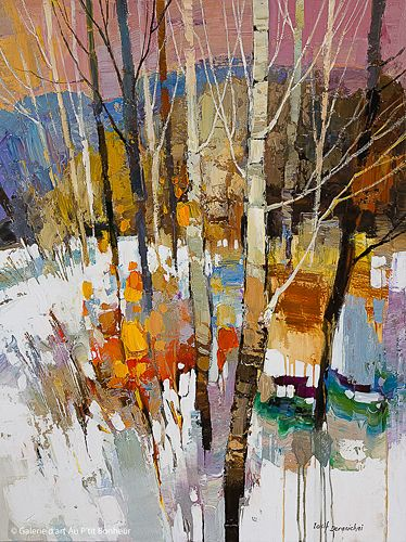 Iosif Derecichei, 'Burning Bush', 30'' x 40'' | Galerie d'art - Au P'tit Bonheur - Art Gallery