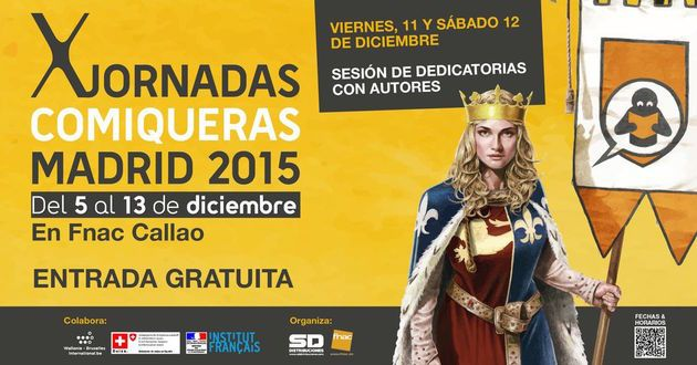 X Jornadas Comiqueras de Madrid
