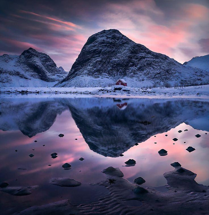 Somewhere in Norway, but that's not important it's a beauty of a picture