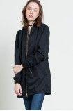 Kupte nyní Vero Moda - Kabát  černá 4931-KUD146 s rychlým odesláním do 24 hodin. Dnes objednáte, zítra nosíte!