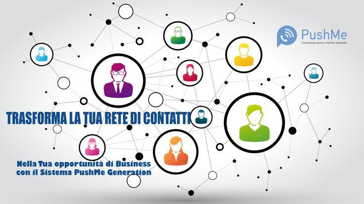 Quanti messaggi invii ogni giorno? Quanti contatti hai nei Social Network? Il tuo potenziale, con gli strumenti giusti, può essere infinito!! #PushMeGeneration