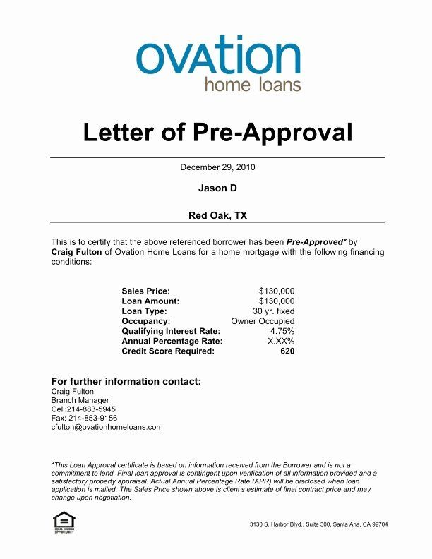 Approval Letter Example Luxury 25 Of Template Letter Approval Lettering Letter Example Pay Off Mortgage Early