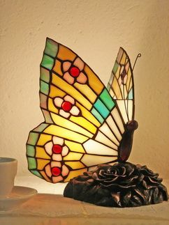butterfly Tiffany lamp