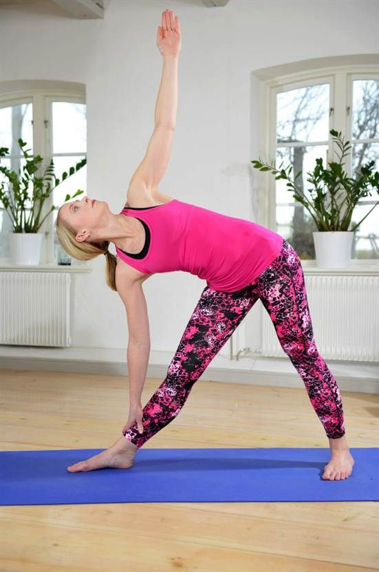 TriangelBra för: Formar och stärker midjan och benen, bra vid ländryggsproblem