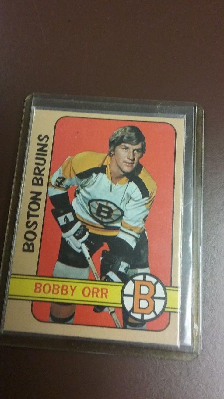 1972 topps hockey bobby orr card 100 bobby orr