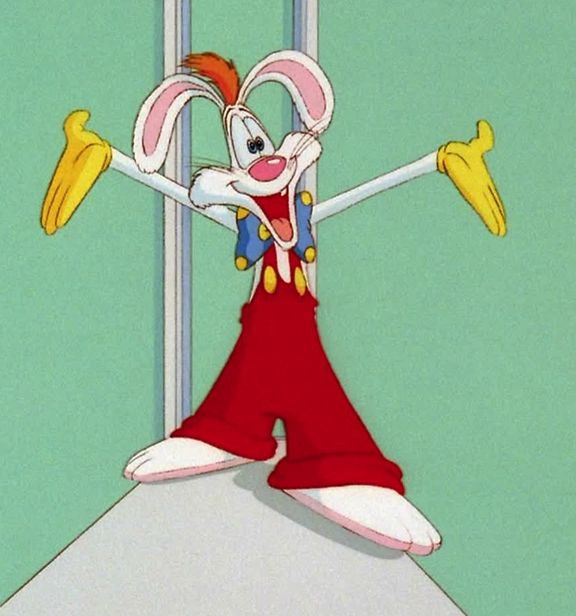 Jessica Rabbit and Roger Rabbit | ... Roger Rabbit , this Blu-Ray release is the perfect opportunity to hop