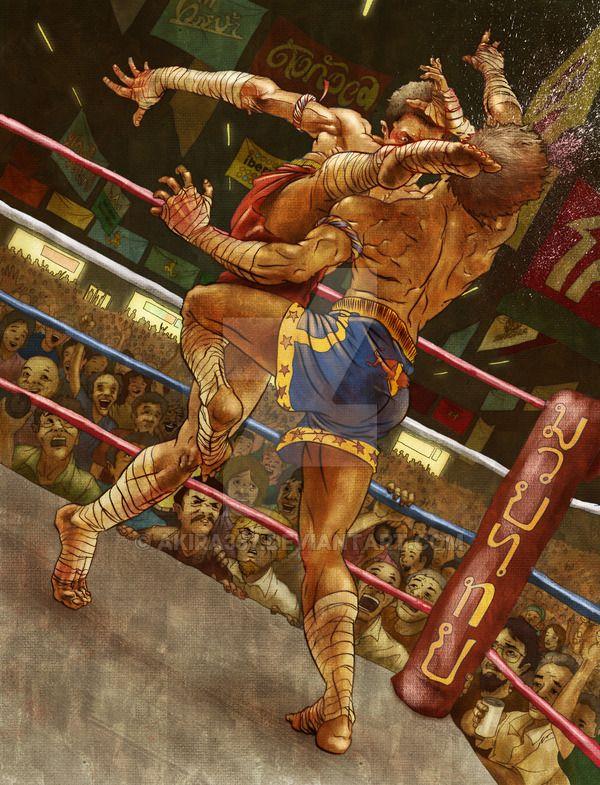 Muay Thai by akira337 on DeviantArt