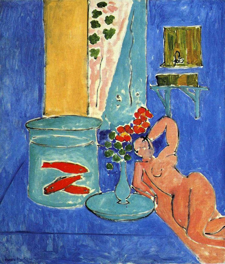 Image result for poissons rouges et sculpture matisse 1911
