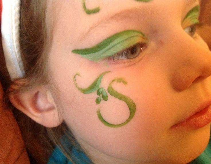Flower Fairy Face Paint - My Kid Craft