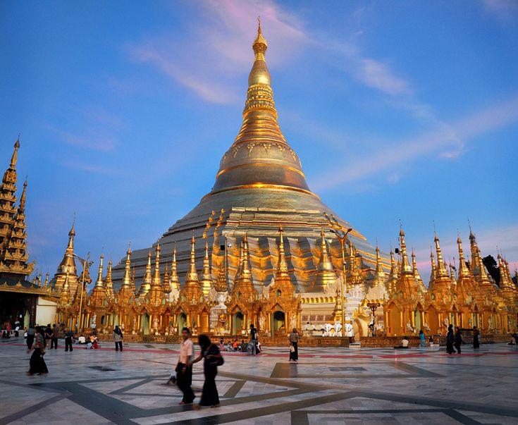 When Burma is a true-free-Democratic nation, I will visit Shwedagon Paya.  Free Burma.