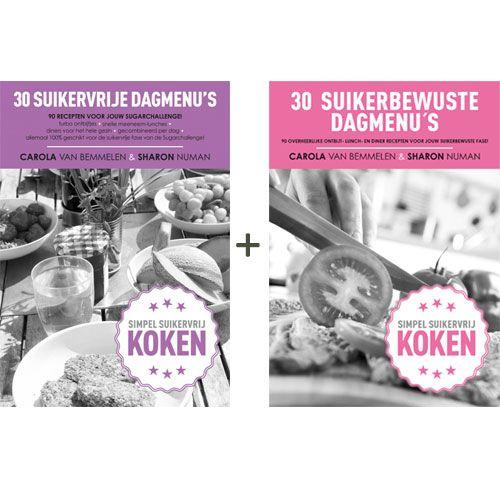 VOORDEEL: suikervrije dagmenu's + suikerbewuste dagmenu's | Voedzo Shop