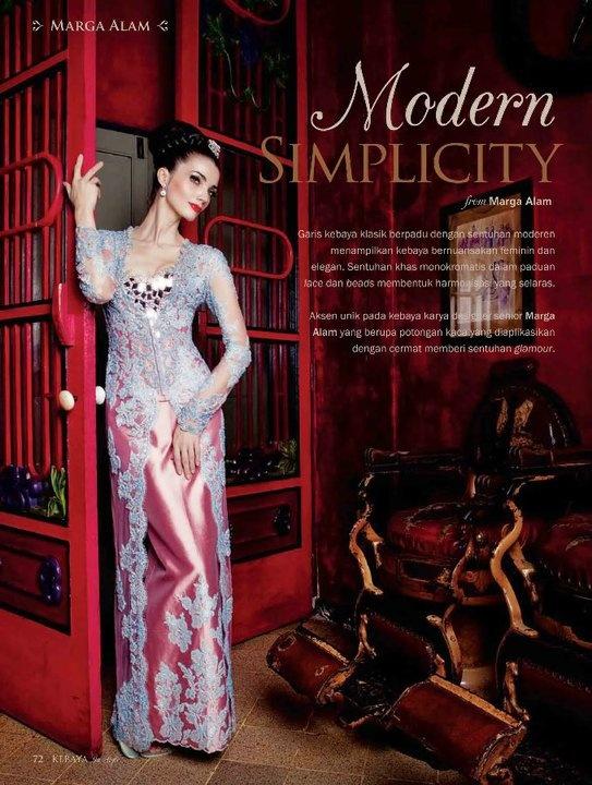 https://www.facebook.com/KebayaInStyle Marga Alam in Kebaya in Style