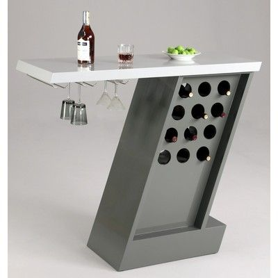 Buy Chintaly Imports Greenwich 47x19 Modern Home Bar on sale online
