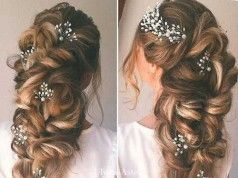 15 Bridal Hair Ideas: Half Up