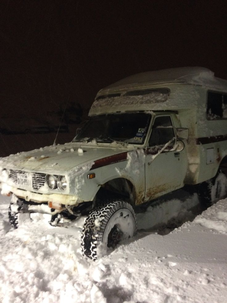 77 Toyota Chinook Converted To 4wd