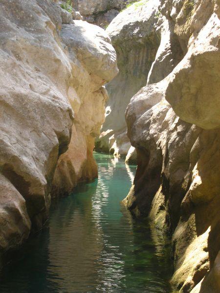 Canyon du rio Peonera (superior), Sierra de Guara, Espagne