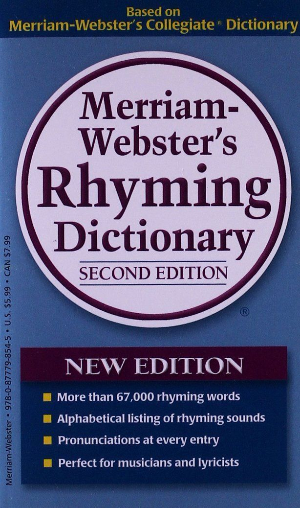 Merriam-Webster's Rhyming Dictionary 2