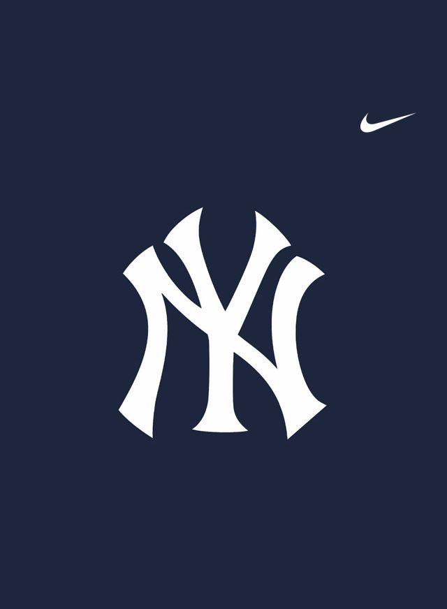 New York Yankees Logo By Nike Team Logos Baseball