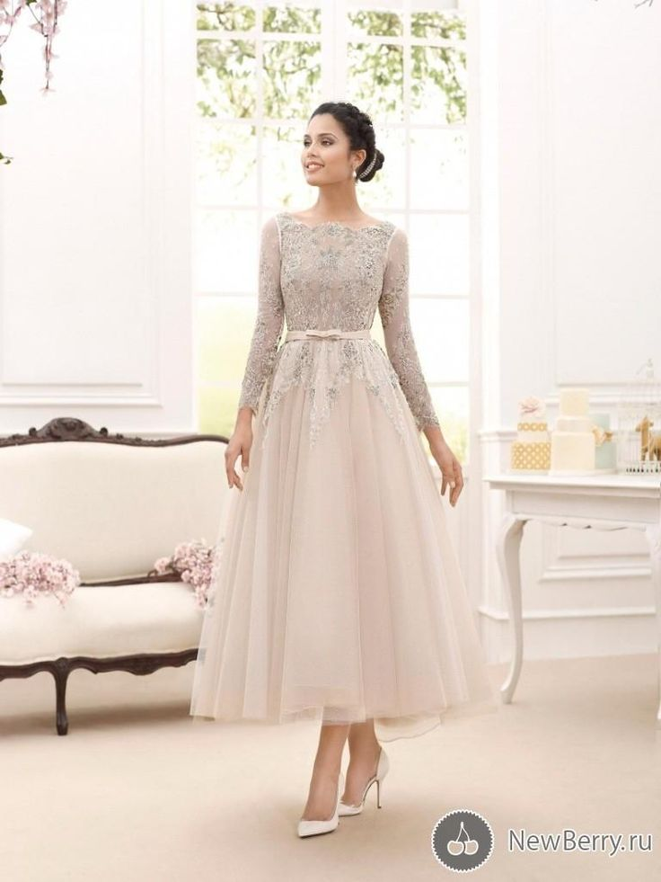 Grandmother Of Bride Dresses 2015 Elegant Illusion Long Sleeve Mother Of The Bridal Dresses A Line Bateau Lace Ankle Length Tulle Mother Dresses Hot Sale Mother Of The Bride Duties From Happymerrory, $66.76| Dhgate.Com