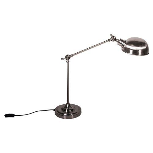 TEM Industrial Chrome Lampa stołowa