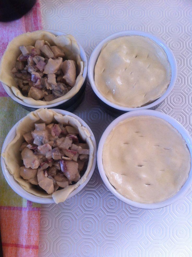 Tortini di pollo