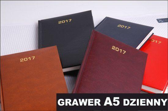 KALENDARZ TERMINARZ DZIENNY BALADEK A5 2017 GRAWER