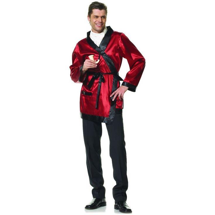 Smoking Jacket Costume Adult Hugh Hefner Halloween Fancy Dress #LegAvenueInc